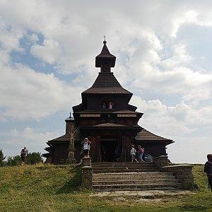 Milan Meravy na vrcholu Radhošť (7.9.2021 14:25)