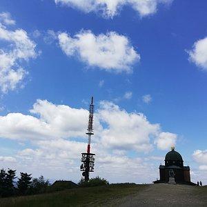 Martin Vlček na vrcholu Radhošť (28.6.2019 13:25)