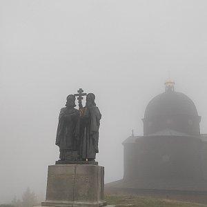 Miros na vrcholu Radhošť (25.9.2021 8:47)