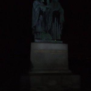 Alžběta Šlosarová na vrcholu Radhošť (25.9.2021 23:33)