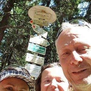 ROSA na vrcholu Radhošť (29.6.2019 9:52)