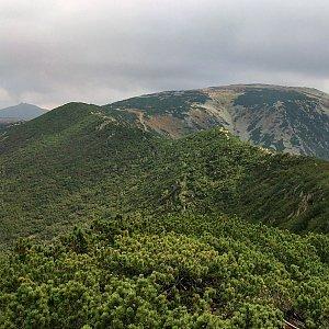 Martin Matějka na vrcholu Kozí hřbety - V vrchol (11.9.2010 14:10)
