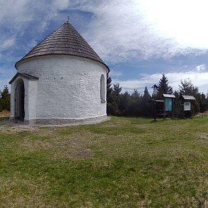 Petr T. na vrcholu U Kunštátské kaple - JV vrchol (8.5.2020 11:19)