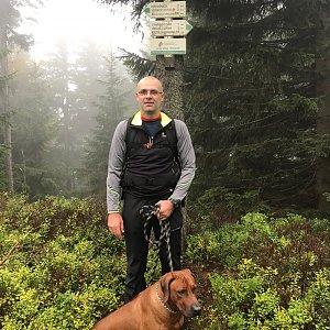 Karin Satoriová na vrcholu Točník (9.10.2020 10:00)