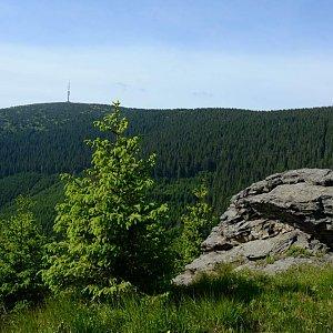 krupjan na vrcholu Kamzičí vrch (30.5.2018 0:13)