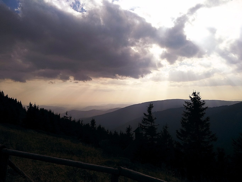 Šárka na vrcholu Červená hora (28.9.2018 16:01)