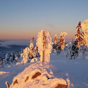 Marek Feest na vrcholu Svaroh (20.1.2019 7:59)