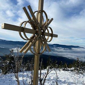 Martina Kopelentova na vrcholu Svaroh (2.1.2021 12:22)