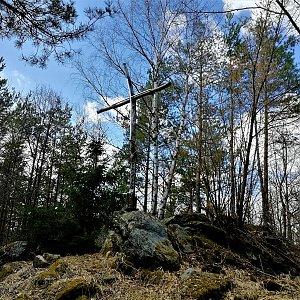 Vladimír na vrcholu Křížovice (28.3.2021 15:24)
