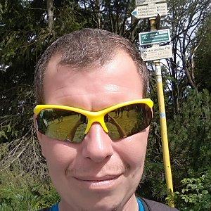 Michal Krčmář na vrcholu Radegast (17.8.2019 11:07)