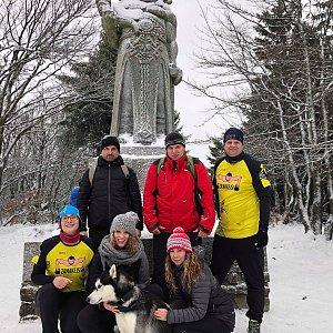 Ombre_Zamakejsi.cz na vrcholu Radegast (4.1.2020 11:45)