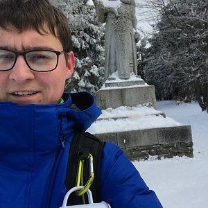 Bronislav na vrcholu Radegast (6.1.2020 12:30)