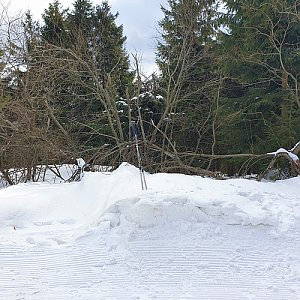 Petr Pepe Peloušek na vrcholu Radegast (1.3.2020 11:47)