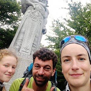 Babunka159 na vrcholu Radegast (18.6.2018 17:25)
