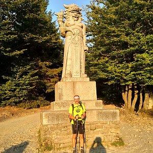 Jiří Sumbal na vrcholu Radegast (18.8.2018 18:54)