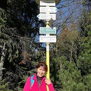 hanule na vrcholu Radegast (6.10.2018 14:13)