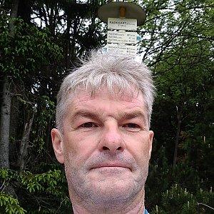 Jaroslav Macura na vrcholu Radegast (12.6.2021 9:09)