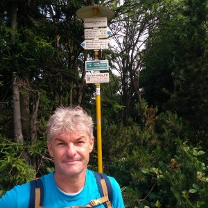 Jaroslav Macura na vrcholu Radegast (17.7.2021 10:18)