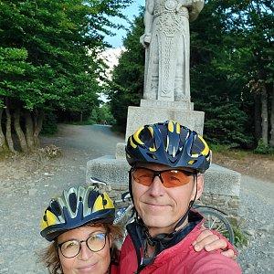Jar Faldy na vrcholu Radegast (24.7.2021 18:40)