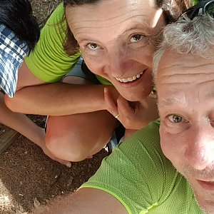 ROSA na vrcholu Radegast (29.6.2019 10:55)