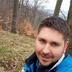 Jaromír Mach na vrcholu Šišák (17.4.2021 14:05)