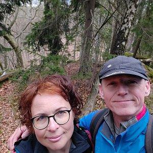 Jar Faldy na vrcholu Nový hrádek  (18.4.2021 14:45)