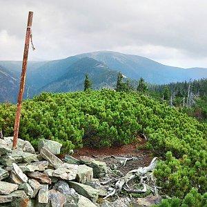 Martin Matějka na vrcholu Železný vrch (11.9.2010 12:46)