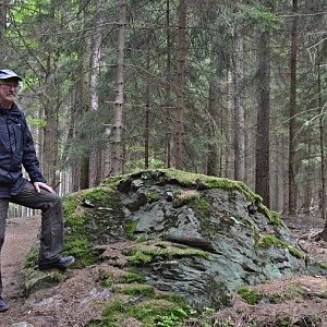 Jarda Vála na vrcholu U Svatého Václava (24.5.2021)