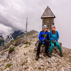 Ondřej Buček na vrcholu Elferspitze (4.7.2021 13:31)