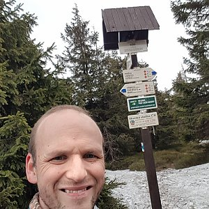 Jarda na vrcholu Sušina (26.4.2020 15:54)