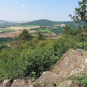 Nojby na vrcholu Blešenský vrch (23.7.2021 11:38)