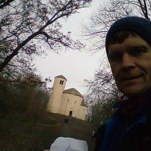 Martin na vrcholu Říp (13.12.2020 12:32)
