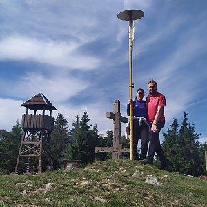Radek xxx na vrcholu Stratenec (16.9.2019 11:12)