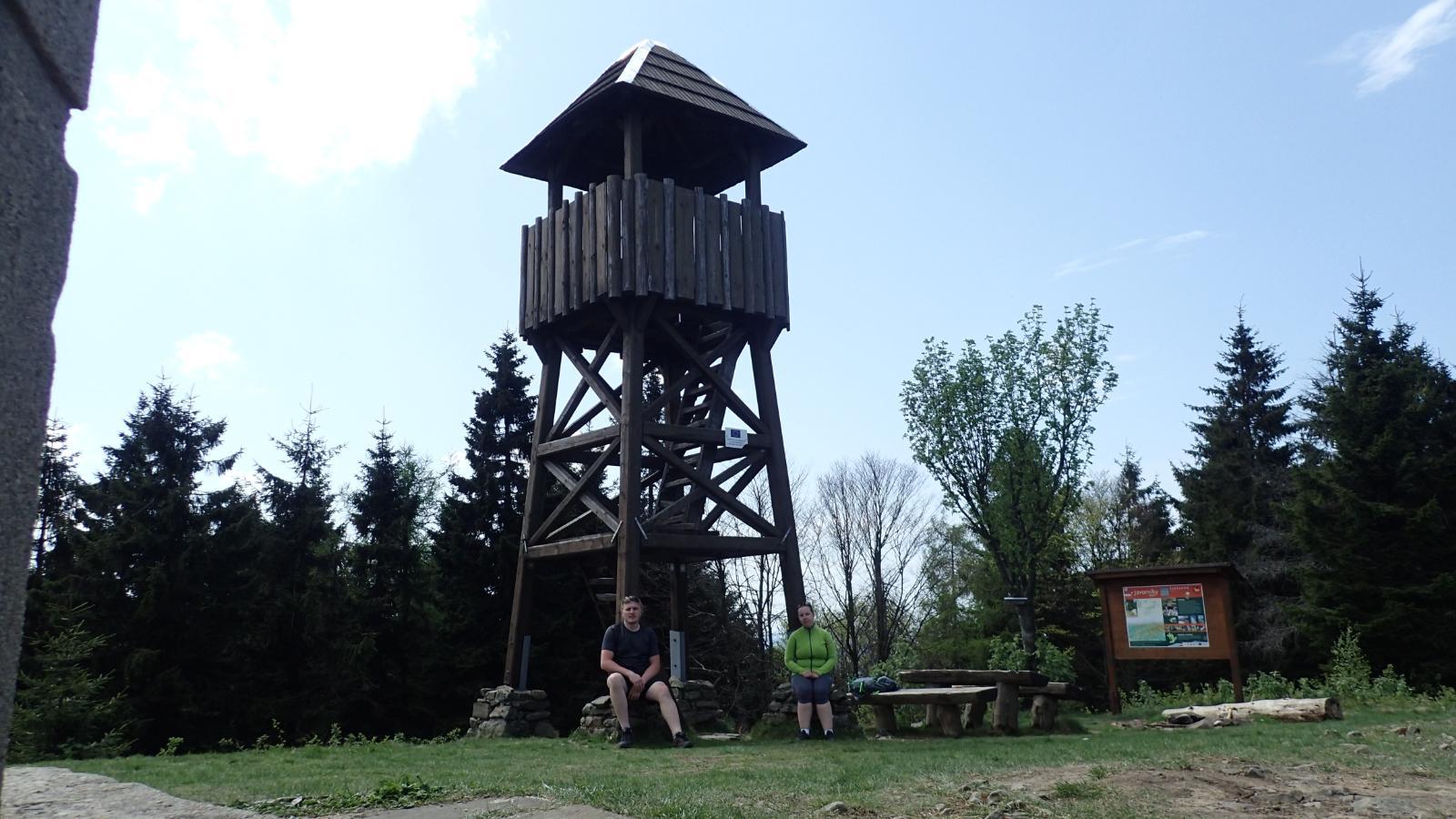 Janča na vrcholu Stratenec (30.4.2018 11:31)