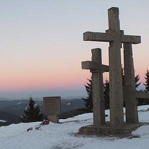 Patejl na vrcholu Stratenec (28.1.2017 15:05)