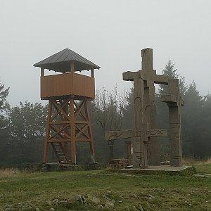 Anna na vrcholu Stratenec (27.9.2020)