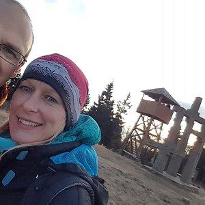 Michaela Karásková na vrcholu Stratenec (22.11.2020 15:06)