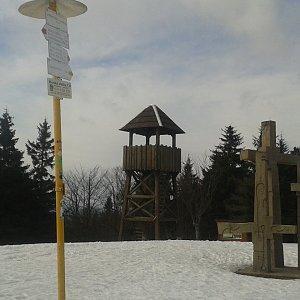 ŠenovKK na vrcholu Stratenec (9.3.2019 9:18)