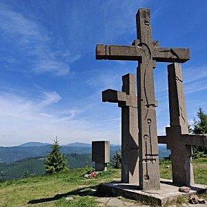 Pavel Martínek na vrcholu Stratenec (15.6.2021 12:11)