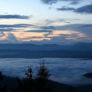 Bouřka na vrcholu Stratenec (27.8.2021 20:30)