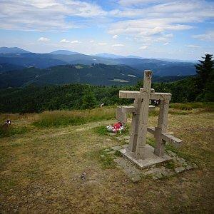 Tomáš Vašíček na vrcholu Stratenec (6.7.2019 13:50)