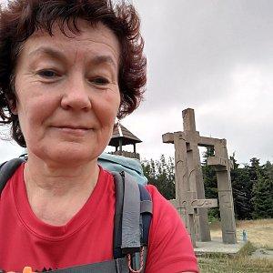 Anna na vrcholu Stratenec (13.7.2019 12:47)