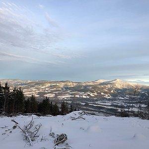 Jiří Šrámek na vrcholu Skalka (Ondřejník) (30.12.2019 15:01)