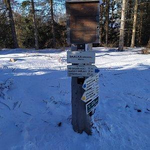 OndraCz na vrcholu Skalka (Ondřejník) (25.1.2020 10:27)