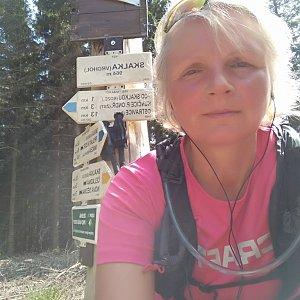 Katka na vrcholu Skalka (Ondřejník) (25.5.2018 14:39)