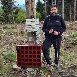 Jiří Gryz na vrcholu Skalka (23.5.2021 11:41)