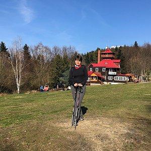 Radka Dubská na vrcholu Malá Prašivá (30.4.2021 17:07)