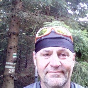Li Be na vrcholu Malý Travný (15.9.2019 16:55)