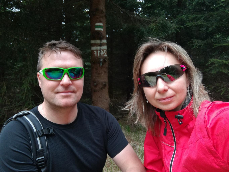 filipka na vrcholu Malý Travný (30.4.2018 11:00)