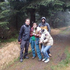 Vendula Kalocsányiová na vrcholu Malý Travný (24.11.2018 13:48)